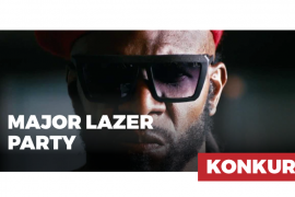 Major Lazer Party konkurs